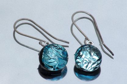 Pendants d'oreille Verre dichroïque 1